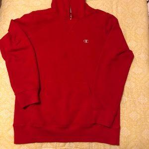 Champion red boys hoodie